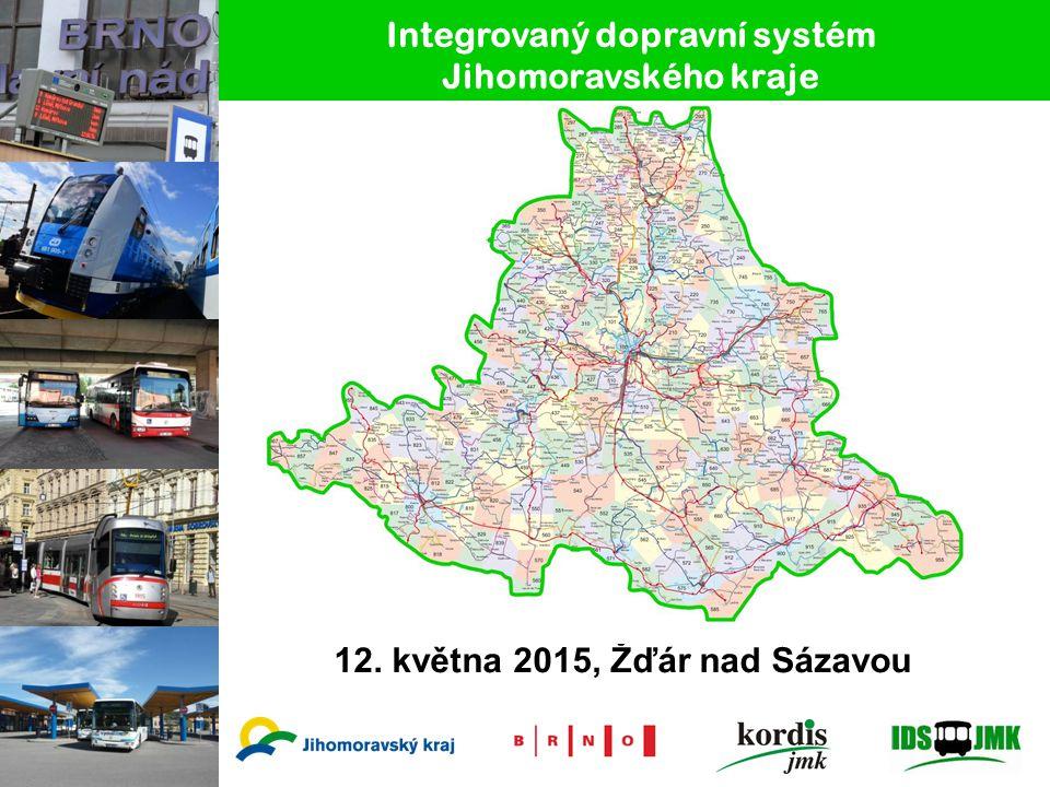 Integrovaný dopravní systém Jihomoravského kraje 12. května 2015, Žďár nad Sázavou