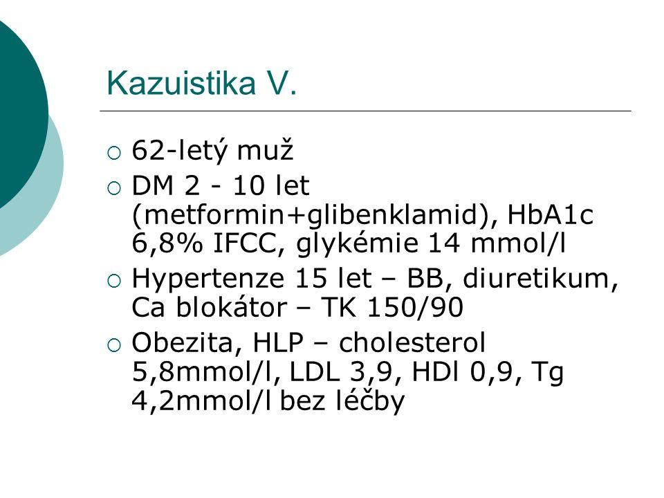 Kazuistika V.