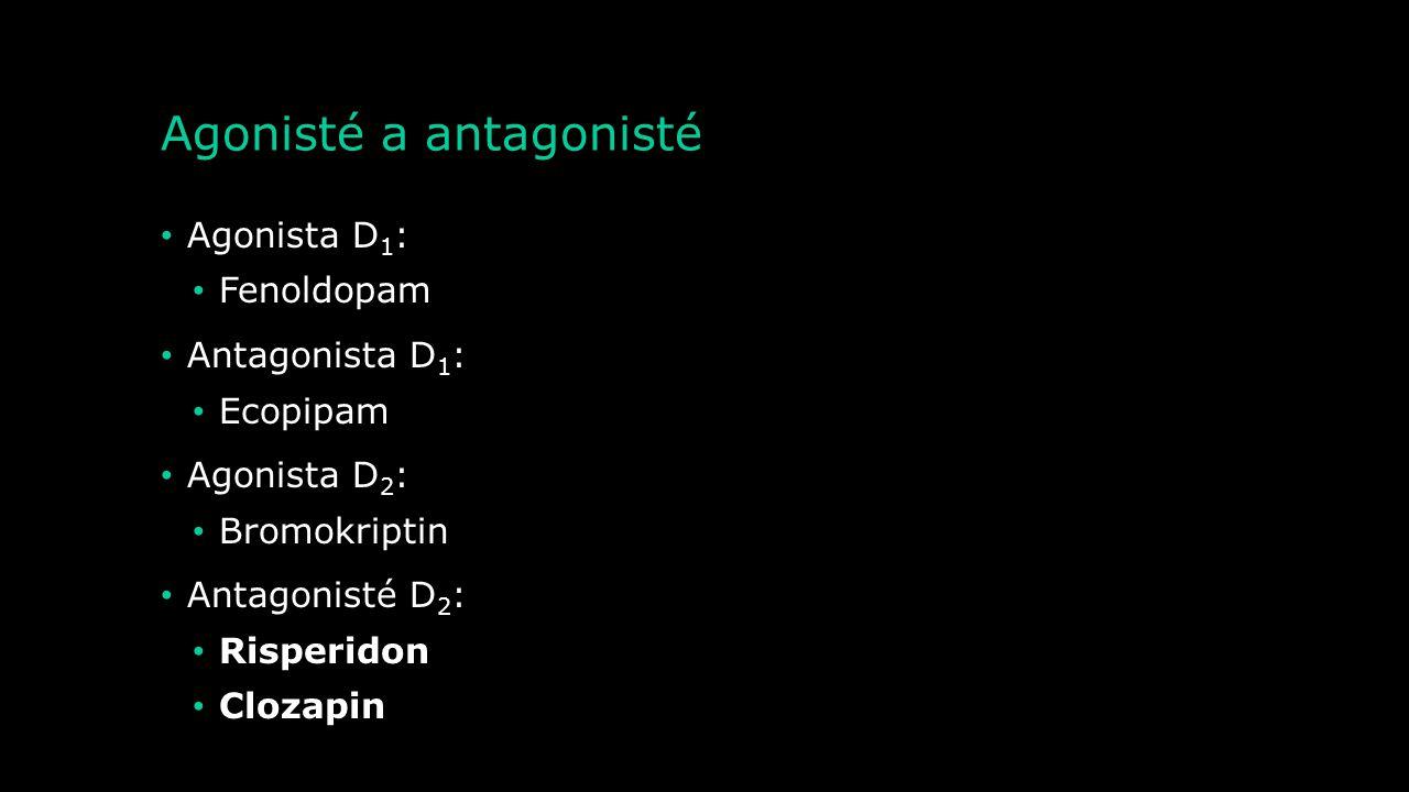 Etiopatogeneze onemocnění lidského těla Parkinsonova choroba Poruchy pozornosti Huntingtonova choroba Schizofrenie Deprese Touretteův syndrom Látková
