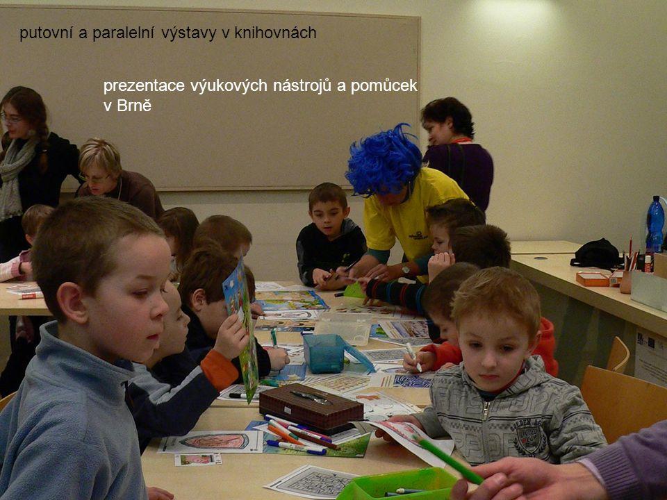 putovní a paralelní výstavy v knihovnách prezentace výukových nástrojů a pomůcek v Brně