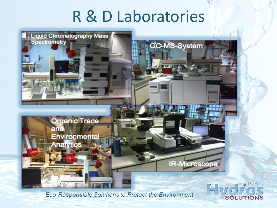 Eco-Responsible Solutions to Protect the Environment R & D Laboratories