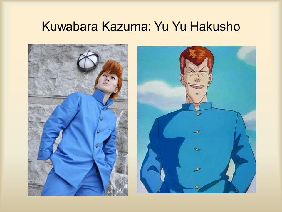Kuwabara Kazuma: Yu Yu Hakusho
