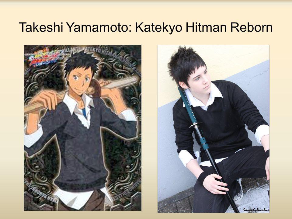 Takeshi Yamamoto: Katekyo Hitman Reborn