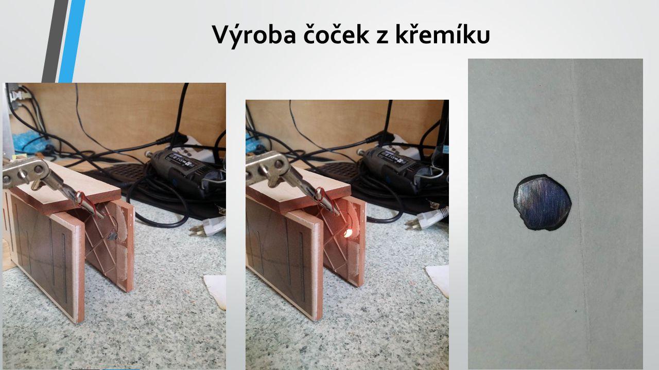 Výroba difrakčních mřížek z drátu