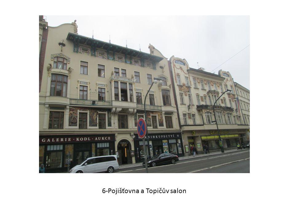 6-Pojišťovna a Topičův salon
