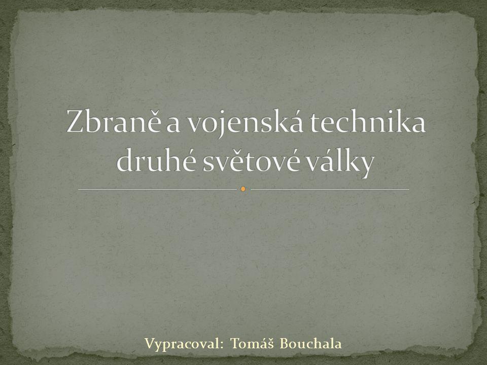 Vypracoval: Tomáš Bouchala