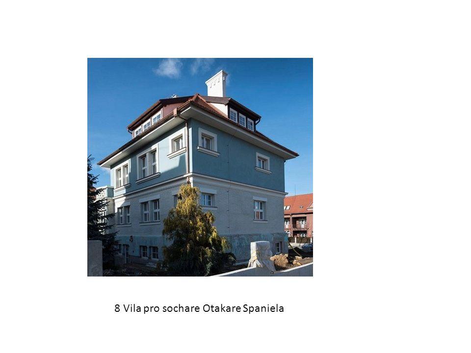 8 Vila pro sochare Otakare Spaniela