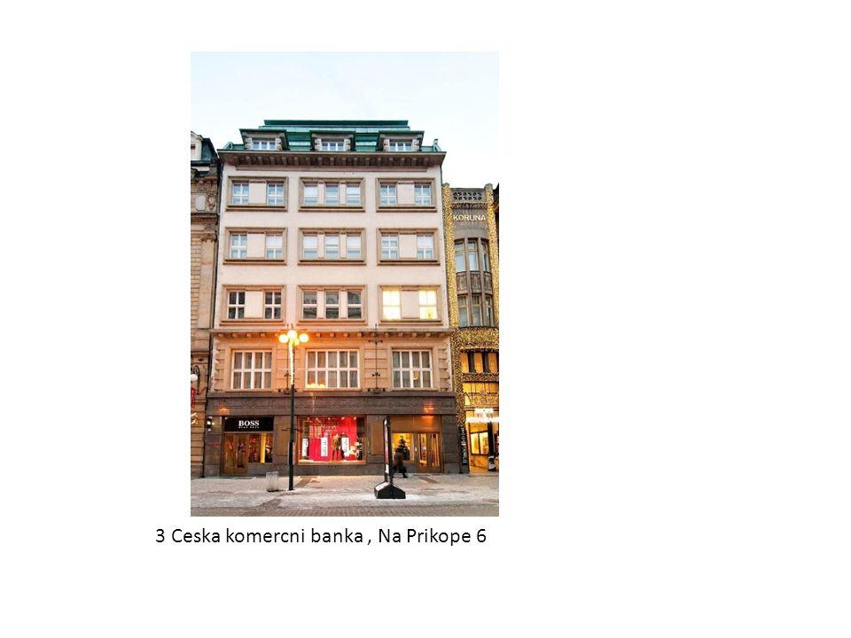 3 Ceska komercni banka, Na Prikope 6