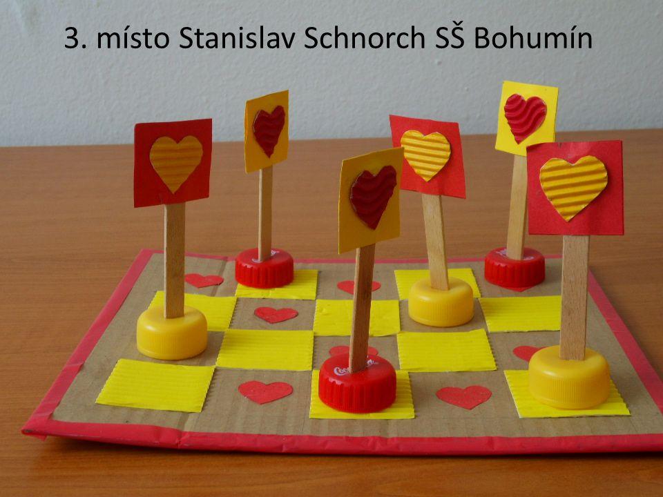 3. místo Stanislav Schnorch SŠ Bohumín