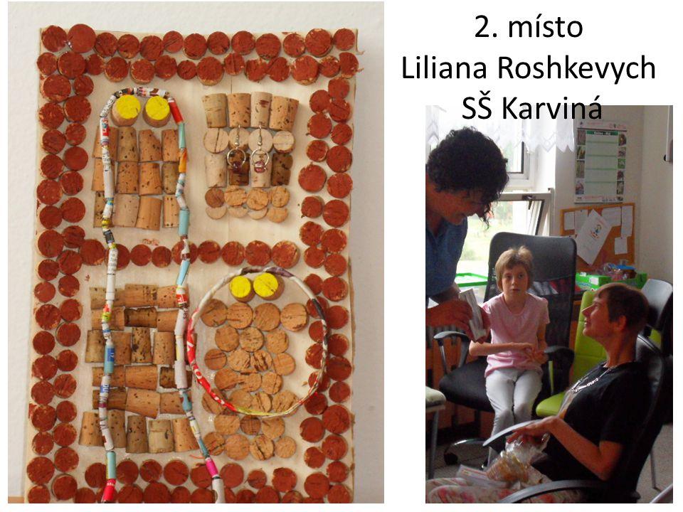 2. místo Liliana Roshkevych SŠ Karviná
