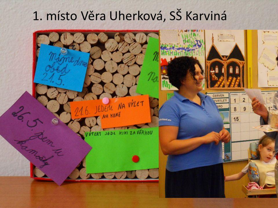 1. místo Věra Uherková, SŠ Karviná