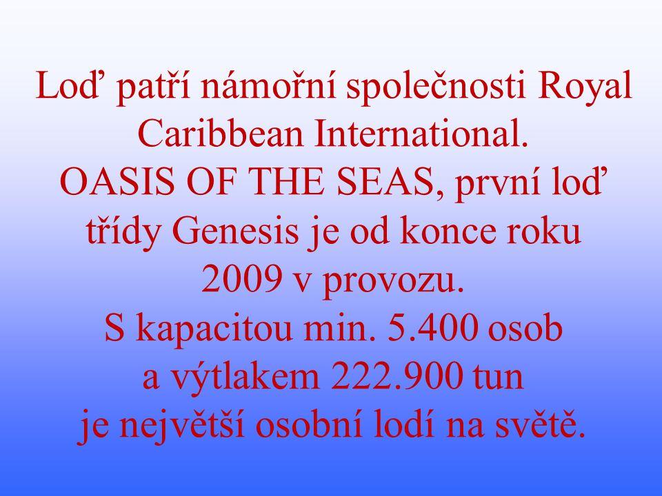 V dnešním Okénku vědy a techniky se seznámíme se stavbou lodě OASIS OF THE SEAS