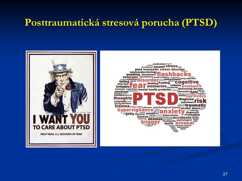 Posttraumatická stresová porucha (PTSD) 27