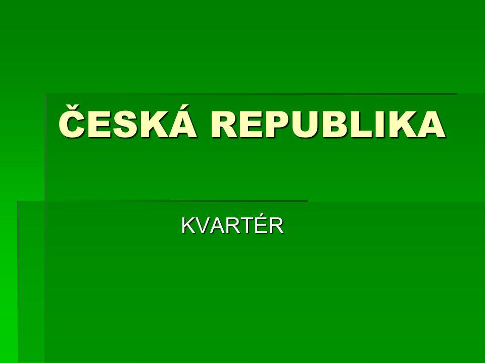 ČESKÁ REPUBLIKA KVARTÉR