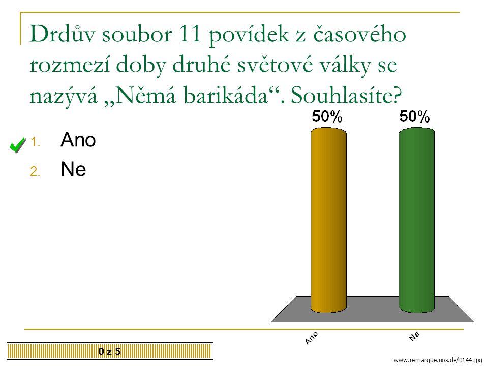 """Spisovatel, který se narodil r. 1915 v Příbrami, napsal """"Městečko na dlani"""" 0 z 5 http://www.spisovatele.cz/jan-drda 1. Jan Drda 2. Karel Toman 3. Fra"""