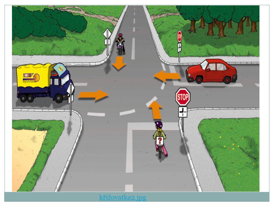 Přednost v jízdě Je upravena v Zákonu o pozemních komunikacích Závazně platná pro všechny účastníky silničního provozu základní pravidla