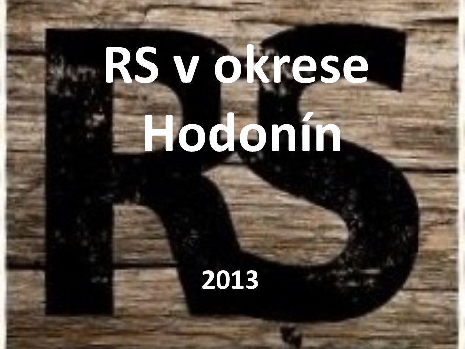 RS v okrese Hodonín 2013
