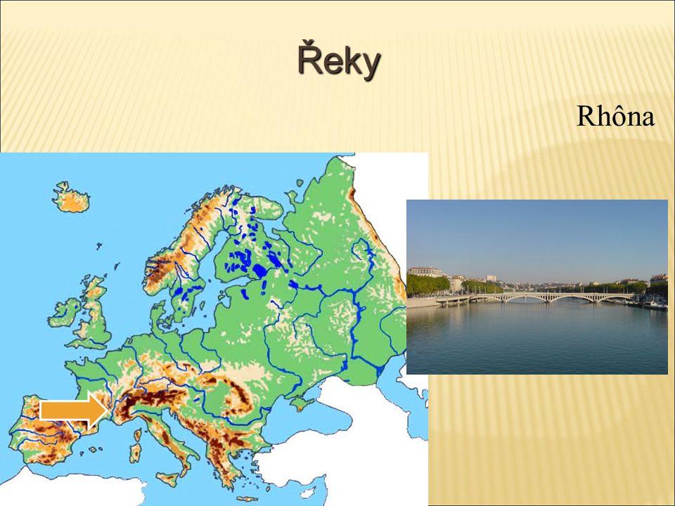 Řeky Rhôna