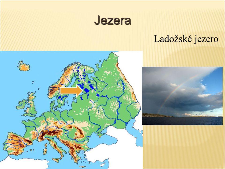 Jezera Ladožské jezero