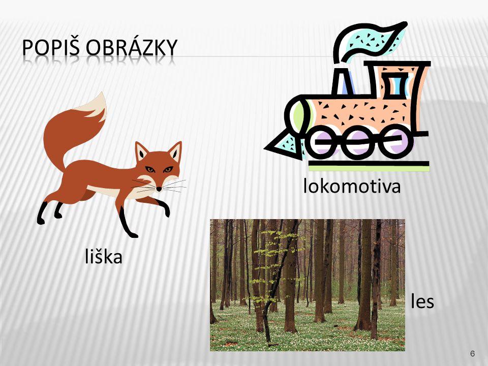 lokomotiva 6 liška les