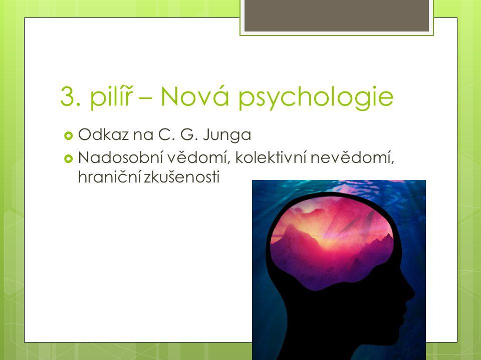 3. pilíř – Nová psychologie  Odkaz na C. G.