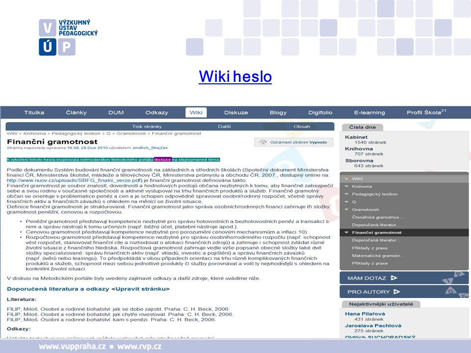 Wiki heslo