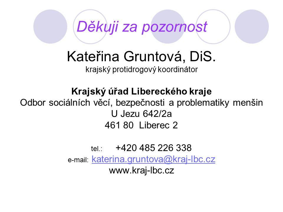 Děkuji za pozornost Kateřina Gruntová, DiS.