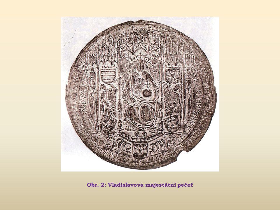 Obr. 2: Vladislavova majestátní pečeť
