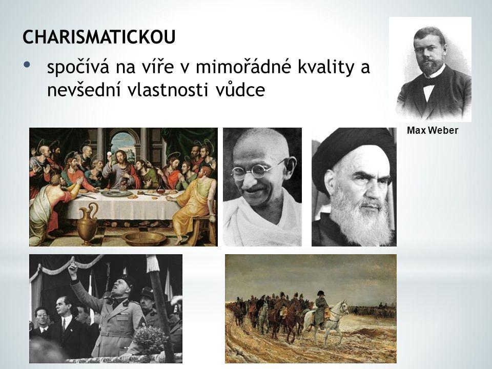 LEGÁLNÍ postaveno na zákonech, pravidlech Miloš Zeman Milan Štěch Miroslava Němcová Petr Nečas Max Weber