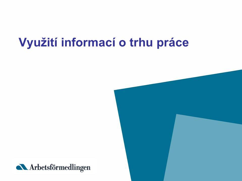 Využití informací o trhu práce