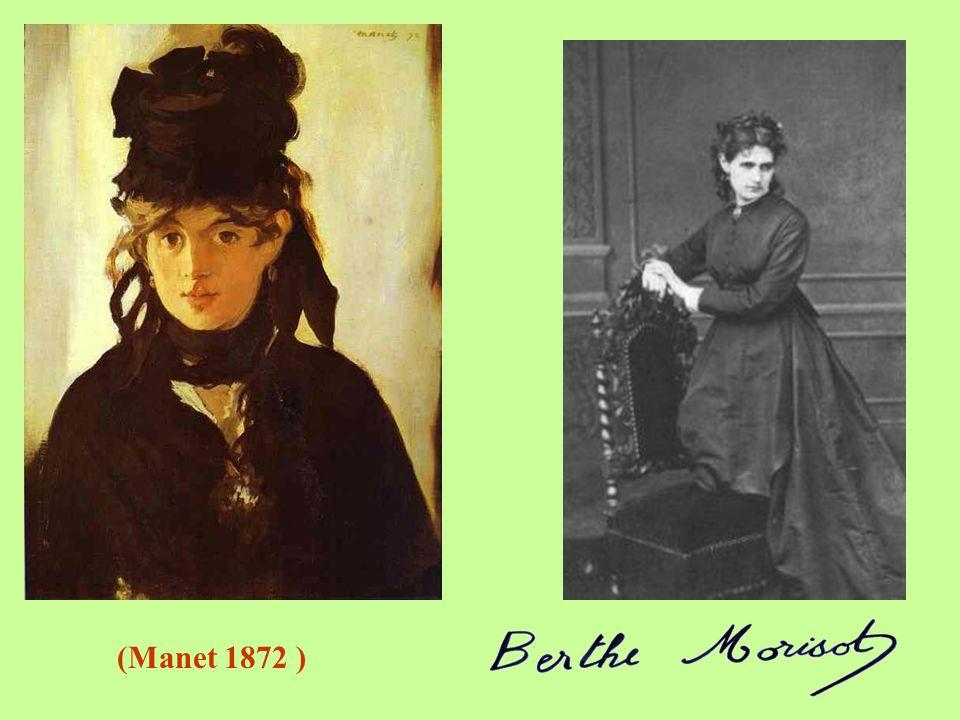 Berthe Morisot (1841-1895) Narodila v Bourges ve velmi majetné rodině státního úředníka. Rodina ji podporovala ve vzdělání, kreslení a malování. Brzy