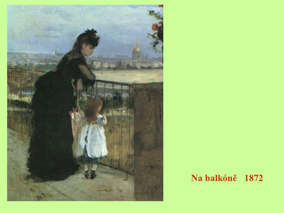 Na balkóně 1872