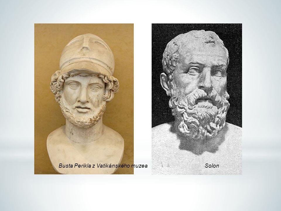 Busta Perikla z Vatikánského muzeaSolon