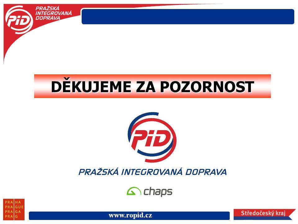 www.ropid.cz DĚKUJEME ZA POZORNOST