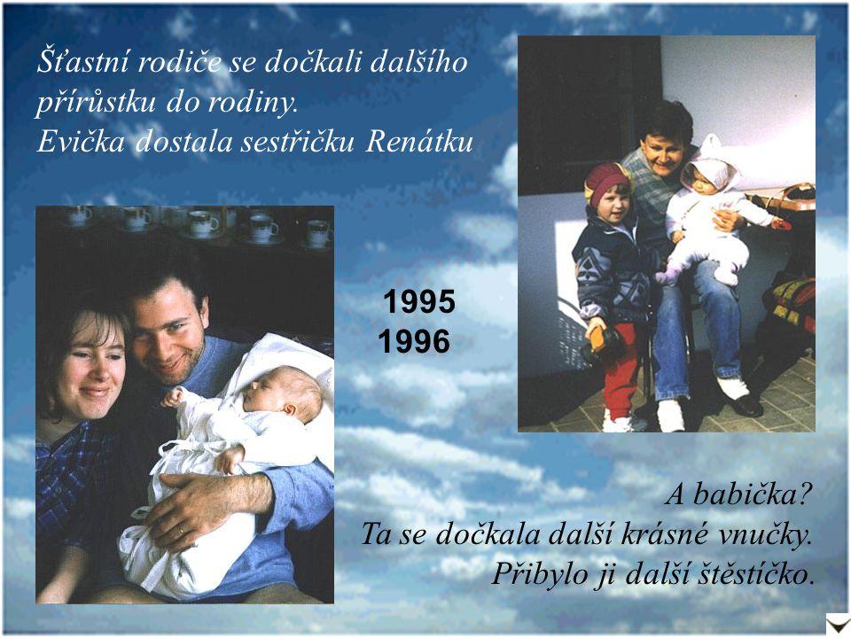 1999 u babičky S tatínkemS babičkou