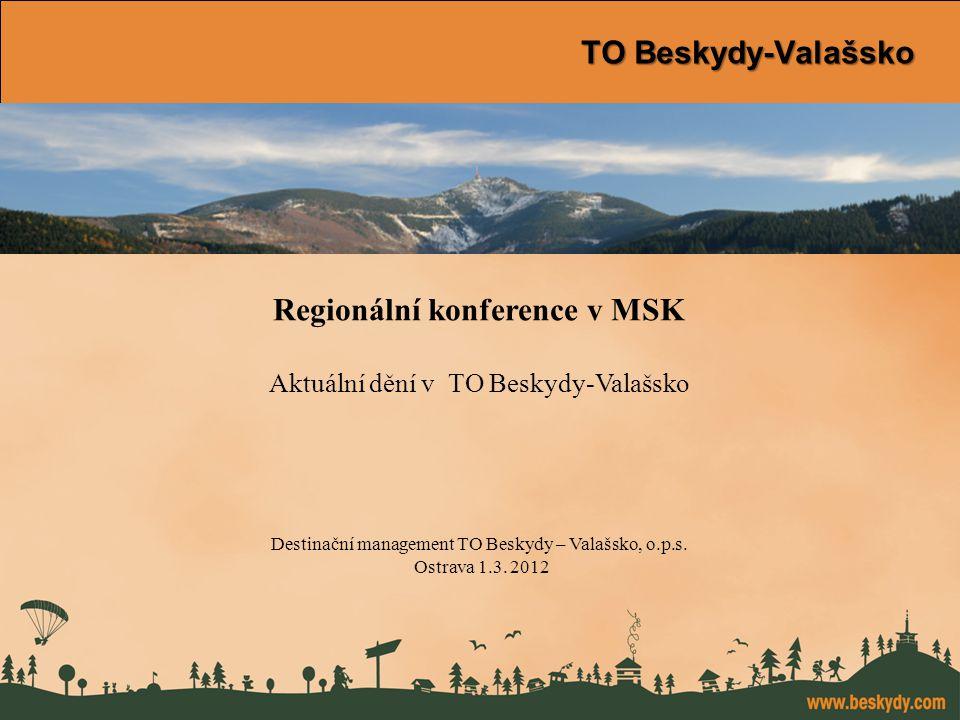 konference Východní Morava TO Beskydy-Valašsko Regionální konference v MSK Aktuální dění v TO Beskydy-Valašsko Destinační management TO Beskydy – Valašsko, o.p.s.