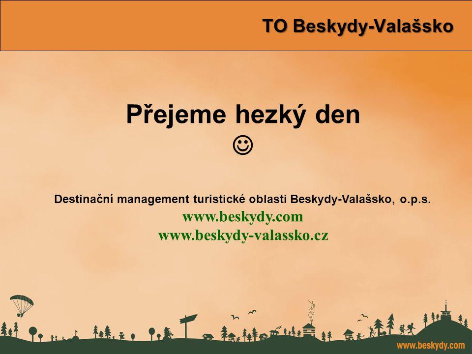 konference Východní Morava TO Beskydy-Valašsko TO Beskydy-Valašsko Přejeme hezký den Destinační management turistické oblasti Beskydy-Valašsko, o.p.s.