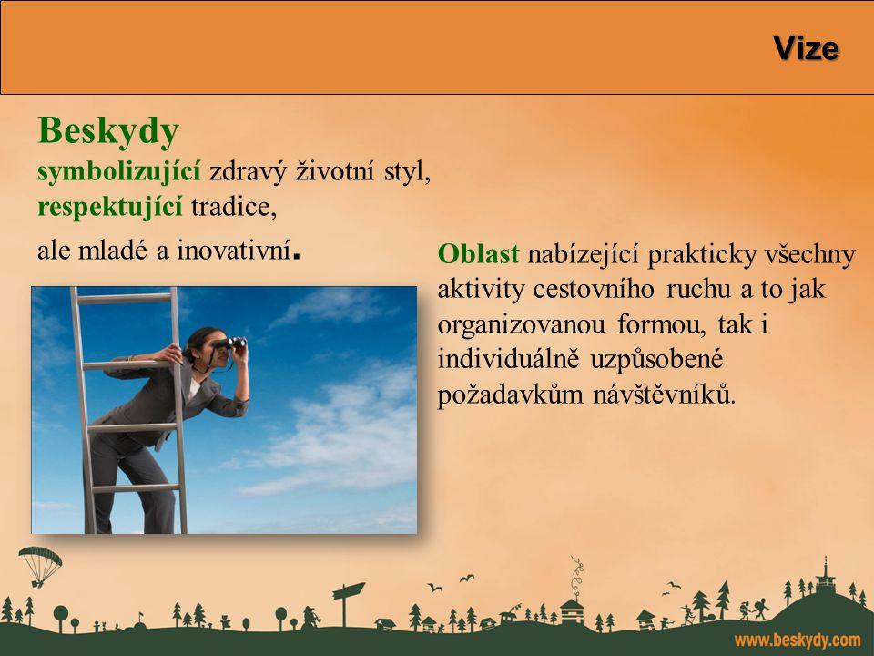 konference Východní Morava Vize Beskydy symbolizující zdravý životní styl, respektující tradice, ale mladé a inovativní. Oblast nabízející prakticky v
