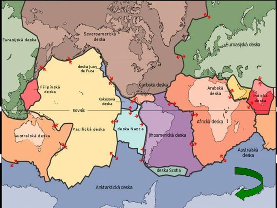 Poloha Byla součástí Gondwany Starý světadíl Africká listosferická deska zpět