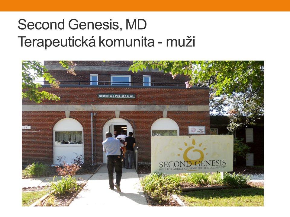 Second Genesis, MD Terapeutická komunita - muži