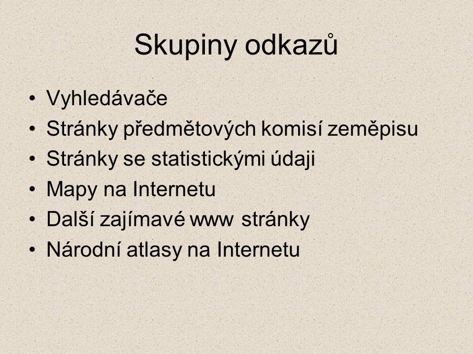 Vyhledávače Google www.google.comwww.google.com Český Google www.google.czwww.google.cz Seznam www.seznam.czwww.seznam.cz Centrum www.centrum.czwww.centrum.cz