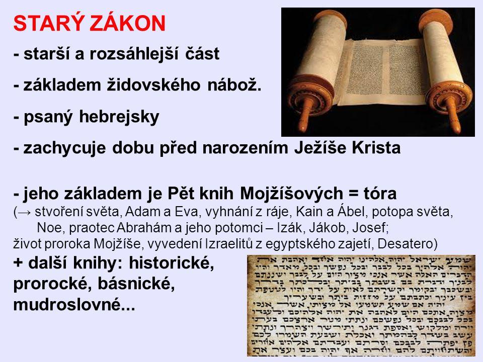 NOVÝ ZÁKON - vznikl v 1.a 2. st. n. l.