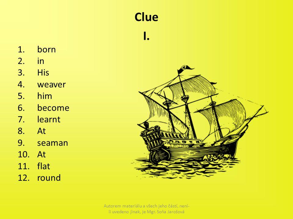 Clue I.