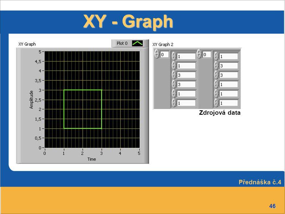 46 XY - Graph Zdrojová data Přednáška č.4