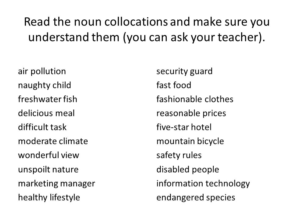 difficult __________ pollution child fish meal task climate view nature manager lifestyle guard food clothes prices hotel bicycle rules people technology species