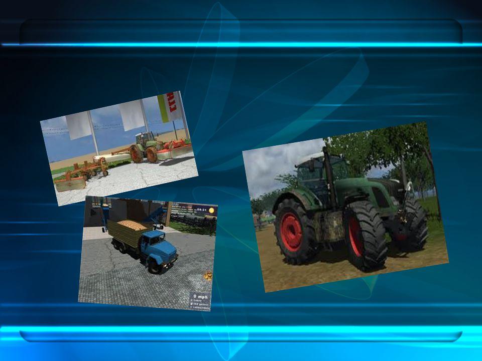 Jak se to tedy hraje.Začátek hry je jednoduchý – máte pole, starší traktor a kombajn.