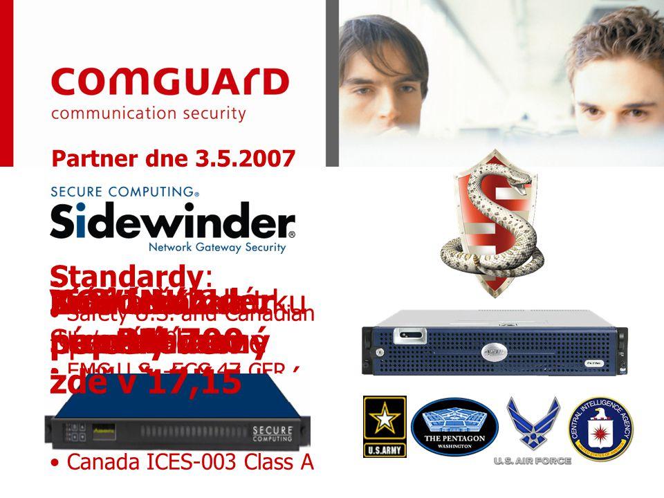 Vznikl na zakázku národních bezpečnostních složek USA Více než 12 let neprolomený aplikační proxy firewall NOVINKA: Speciální verze pro bezpečnostní s