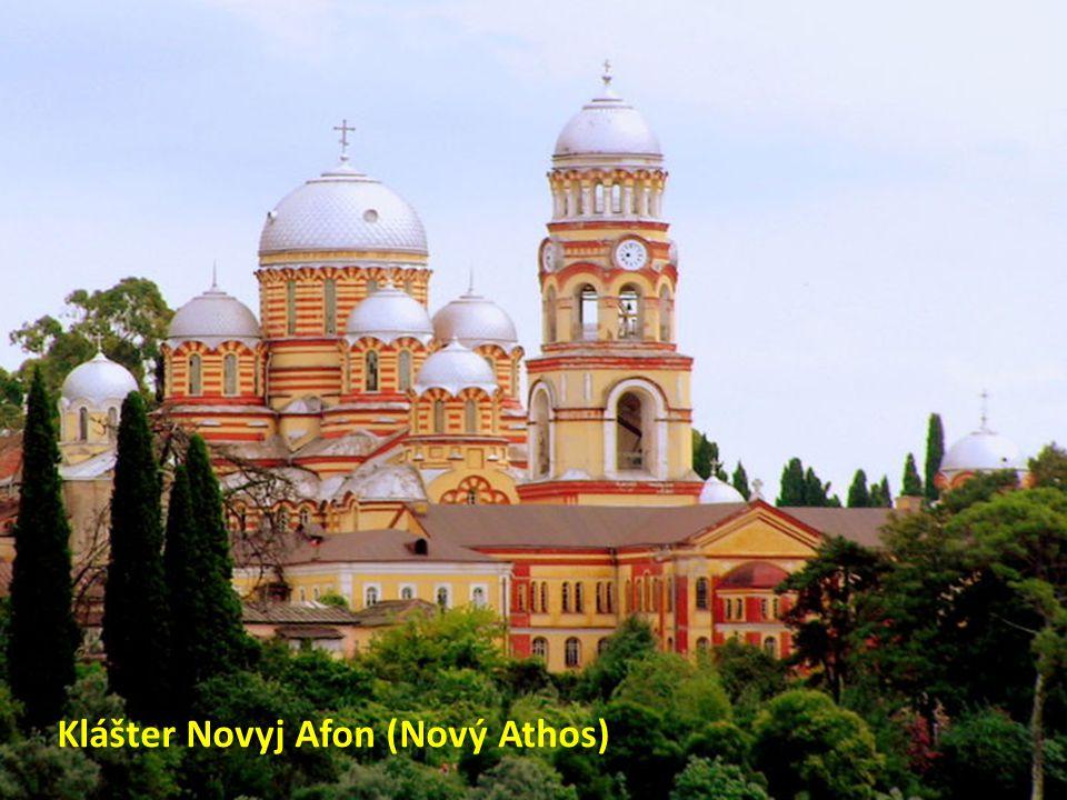 Klášter Novyj Afon (Nový Athos)