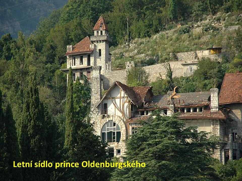 Letní sídlo prince Oldenburgského