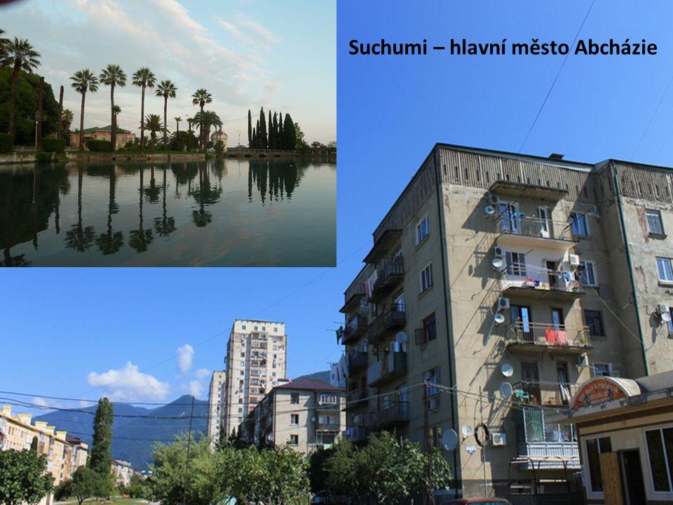 Suchumi – hlavní město Abcházie